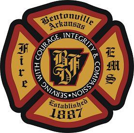 Bentonville Fire and EMS badge