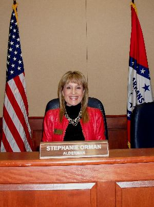 View information for Council Member Stephanie Orman.
