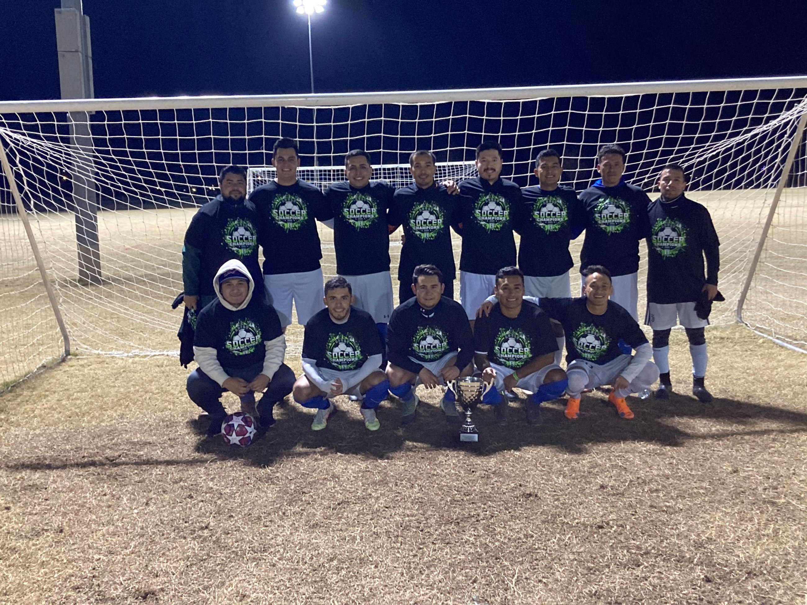 2020 BPR Adult Soccer - Wednesday Competitive Champion - SAI