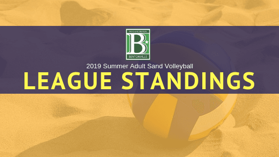 2019 SVB Standings Header