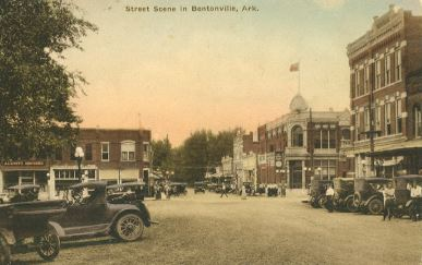 Historic Bentonville Downtown